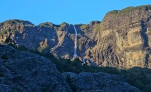 Cascade glacière