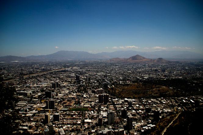 Santiago du Chili: Miroir d'une réussite économique?