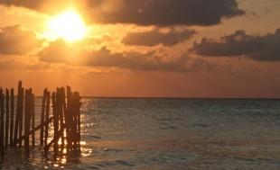 Un dernier coucher de soleil au Mexique